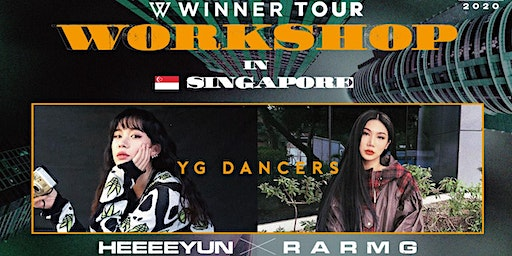 Winner Tour Dance Workshop in Singapore