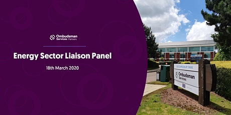 Energy Sector Liaison Panel tickets