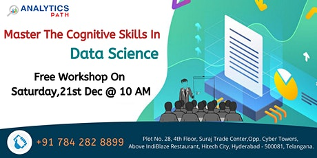 Free Workshop Session On Data Science On Saturday 21st Dec @ 10 AM tickets