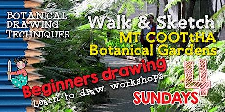 BOTANICAL WALK & SKETCH Mt COOTtHA BOTANICAL GARDENS tickets