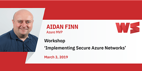 Workshop Implementing Secure Azure Networks tickets