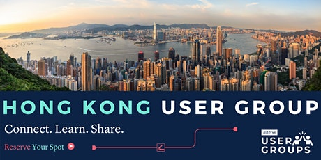 Hong Kong Alteryx User Group Q1/2020 Gathering tickets