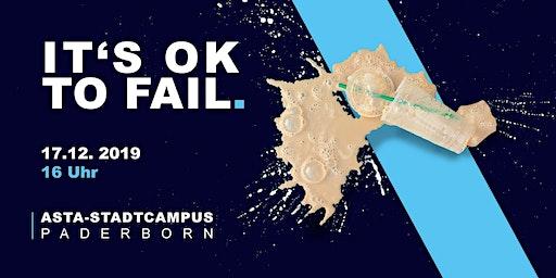 SIGMA Reihe: IT'S OK TO FAIL - Scheitern als Chance