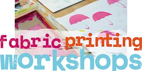 Fabric Printing Workshop tickets