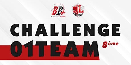 Challenge 01 Team- 8ème édition billets