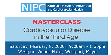 Cardiovascular Disease in the 'Third Age' Masterclass tickets