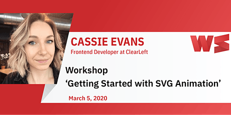 Workshop Getting started with SVG animation tickets