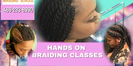 3HRS BRAIDING CLASSES tickets