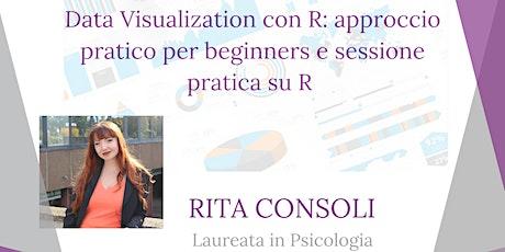 Rita Consoli con RLadies Bari, presenta: Data Visualization in R biglietti