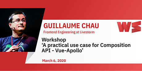 Workshop: A practical use case for Composition API - Vue-Apollo tickets