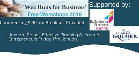 January Re-Set: Effective Planning and Yoga for Entrepreneurs tickets