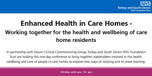 Enhanced Health in Care Homes Conference