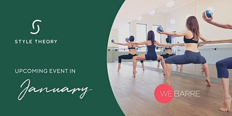 SG - Style Theory X Webarre Signature Class (29 January tickets