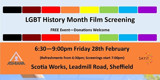 LGBT History Month Film Screening: Major!