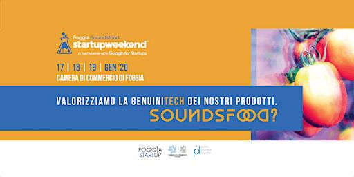 Startup Weekend Foggia 2019 | SoundsFood