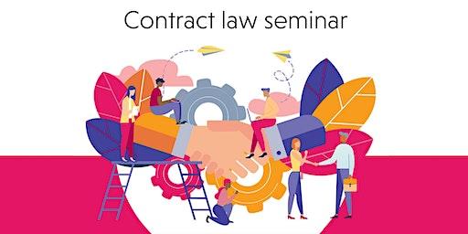 Contract law seminar - Cardiff