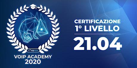Corso di Certificazione Primo Livello VoipVoice Firenze biglietti