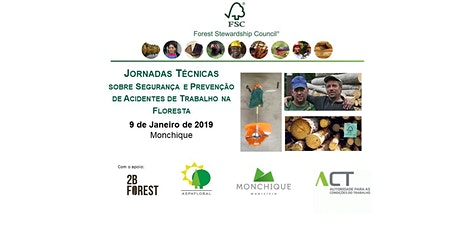 Jornadas Técnicas sobre Segurança e Prevenção de Acidentes de Trabalho na Floresta bilhetes