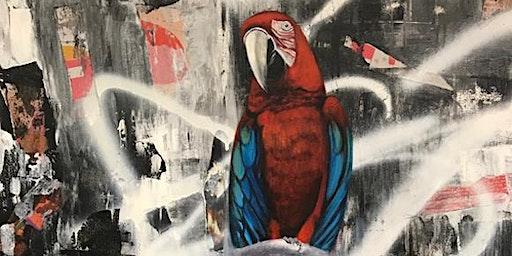"""""""URBAN BIRDS"""" - Utställning av Charlotta Söderbom och Annika Damm"""