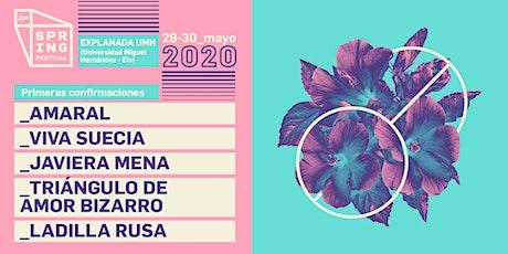 Spring Festival 2020 entradas