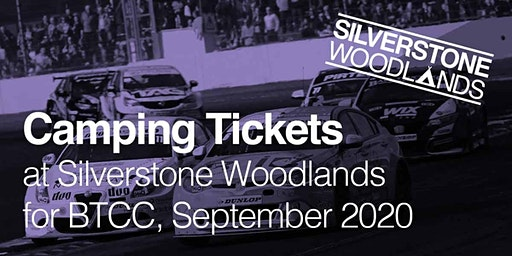 Camping at Silverstone Woodlands - Sept British Touring Car Championships