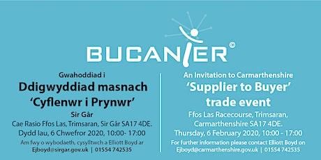 BUCANIER Supplier to Buyer Trade event tickets