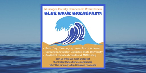 Muscogee County Democrats' Blue Wave Breakfast