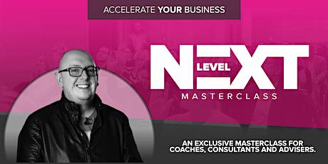 Next Level Masterclass with Dean Seddon tickets