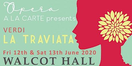 Walcot Hall Opera - La Traviata tickets