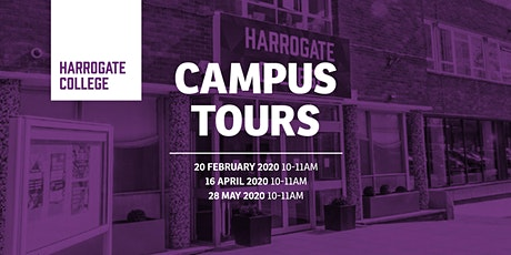 Harrogate College Holiday Campus Tours tickets