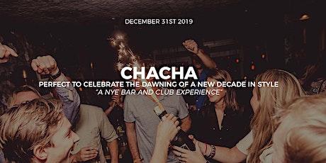 NYE Party Amsterdam Nightlife  @  Cha Cha tickets