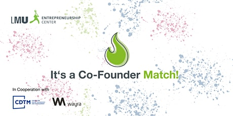 It's a Co-Founder Match! Vol. 4 Tickets