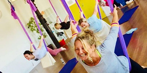 Introduction to Aerial Yoga with Paddy Gallagher