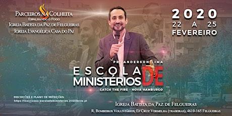 ESCOLA DE MINISTÉRIOS bilhetes