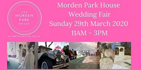 Morden Park House Wedding Fair tickets