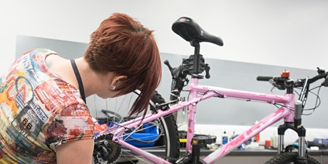 Basic bicycle maintenance [Central Manchester] Women's only course tickets