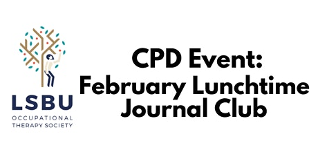 February Lunchtime Journal Club tickets