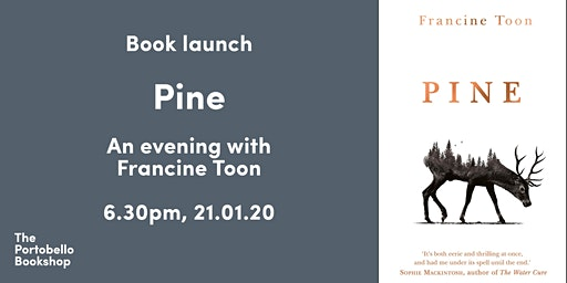 BOOK LAUNCH: Pine by Francine Toon