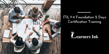 ITIL®4 Foundation 2 Days Certification Training in Louisville tickets