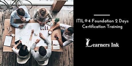 ITIL®4 Foundation 2 Days Certification Training in Nashville tickets