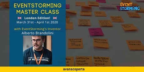 EventStorming Master Class - London 2020 tickets
