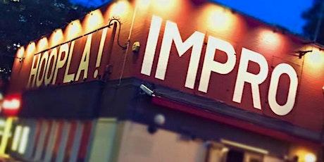 Hoopla Improv Jam with Stephen Wan! Free tickets