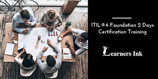 ITIL®4 Foundation 2 Days Certification Training in Dayton