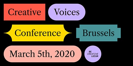 Creative Voices - leadership conference billets