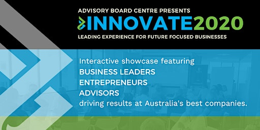 INNOVATE2020 - Adelaide Showcase