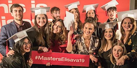 Fiesta Graduación Másters y Postgrados Elisava - Febrero 2020 entradas