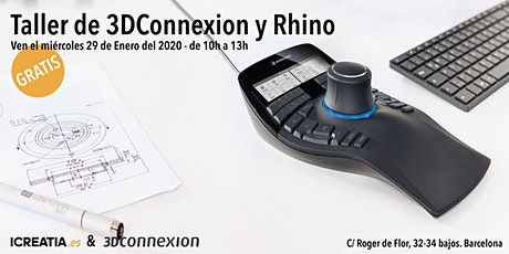 Taller de 3DConnexion y Rhino entradas