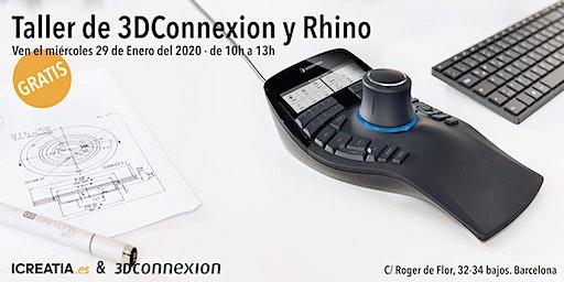 Taller de 3DConnexion y Rhino