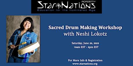 Drum Making Workshop with Neshi Lokotz tickets