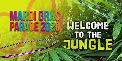 Mardi Gras 2020 - Welcome to the Jungle HOOP DANCE FLOAT <3